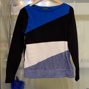 Ann Taylor colorblock sweater. Size m